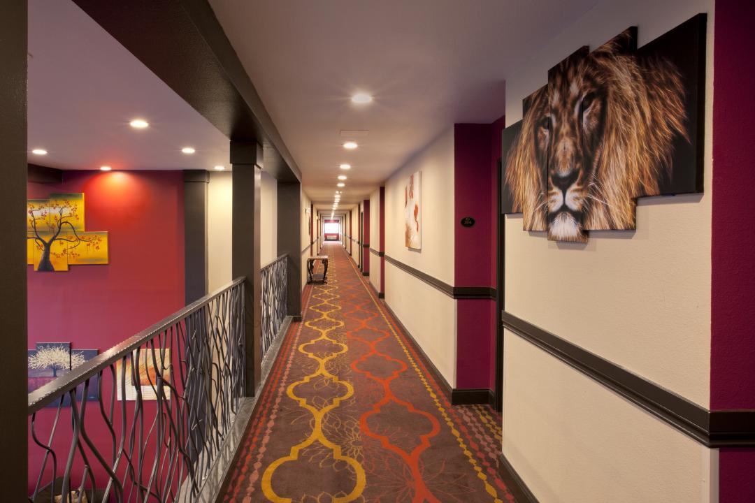 Hallway at Red Lion Inn & Suites Kent
