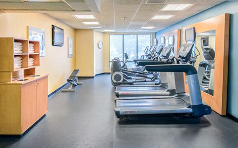 Fitness Area with treadmills