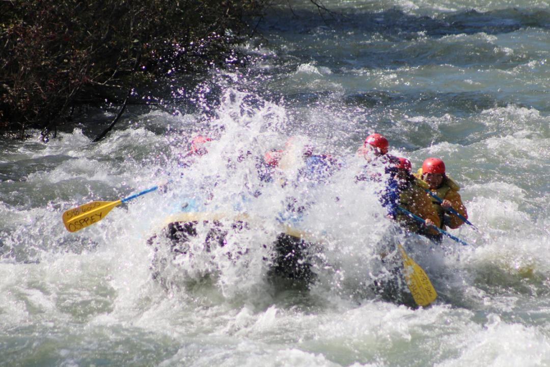 Yakima offers water sports including white water rafting