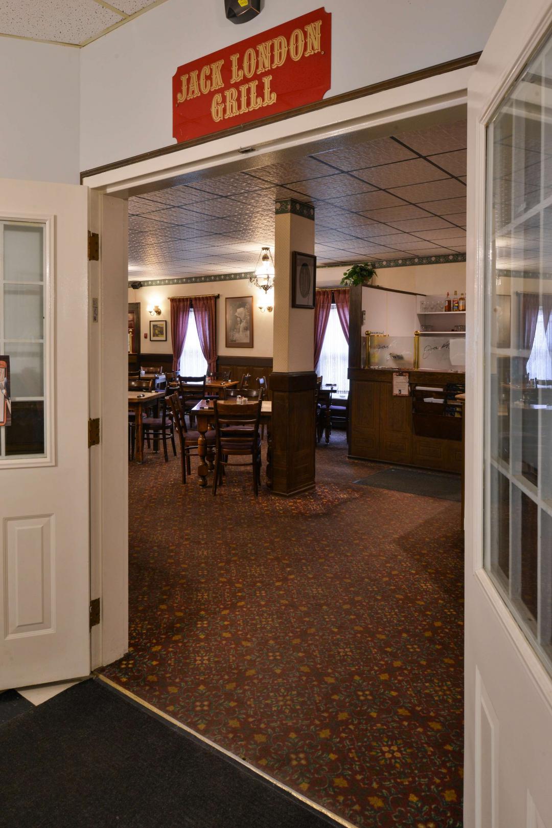 Jack London Grill Entrance